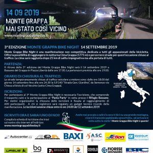3^ Edizione Montegrappa Bike Night 14 Settembre 2019 ASC VICENZA