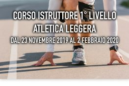 Corso Istruttore 1   Livello ATLETICA LEGGERA ASC ACADEMY ABRUZZO