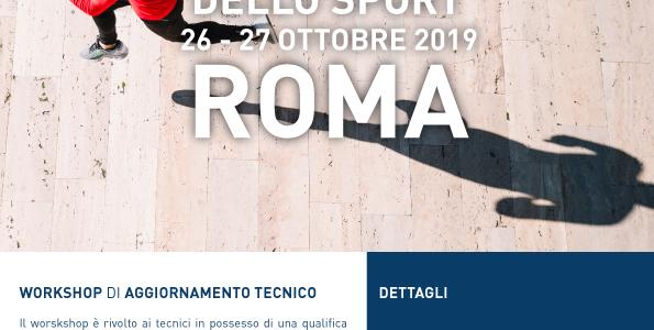 I NUOVI PROFESSIONISTI DELLO SPORT – 26 – 27 OTTOBRE  Roma