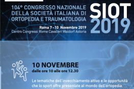 Progetto Sosia al 104   congresso nazionale SIOT 2019