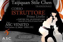 CORSO ISTRUTTORE ASC Wushu Kung Fu Tradizionale Taijiquan Stile Chen