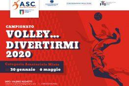 Campionato ASC - VOLLEY  DIVERTIRMI 2020