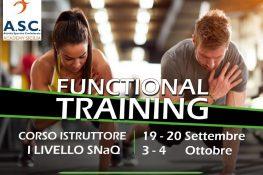ASC Sicilia - Corso Istruttore Fuctional Training