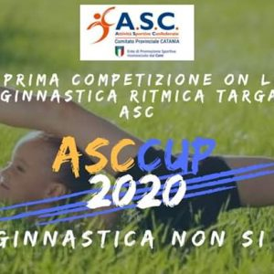 Competizione On line di ginnastica ritmica – ASC Catania