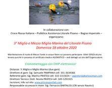 III edizione del Nuoto di Mezzo Fondo del Litorale Pisano sulle distanze del 1 2 Miglio e Miglio Marino