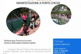SPECIAL FISHING LAGHI SENZA BARRIERE -  10  edizione  CON IL CONTRIBUTO DELLA REGIONE LAZIO