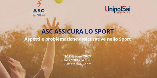 ASC ASSICURA LO SPORT – Aspetti e problematiche assicurative nello Sport