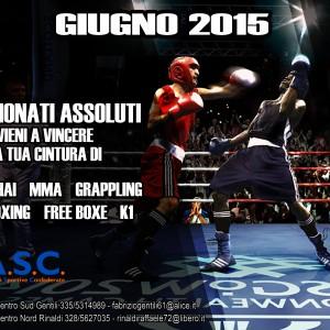 Campionati Assoluti A.S.C. Sport Da Combattimento