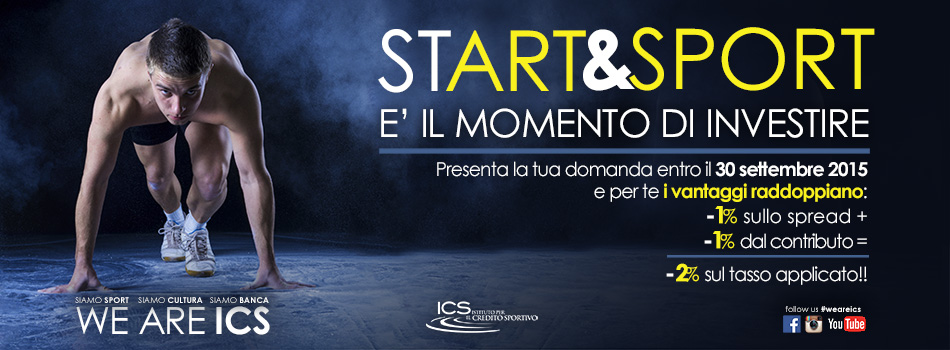 START   038  SPORT-Campagna commerciale