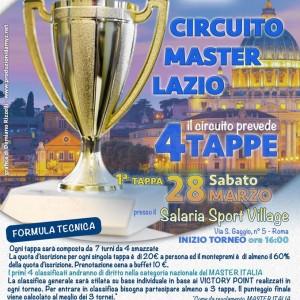 Burraco – Circuito Master Lazio – 28.03.2015 Roma