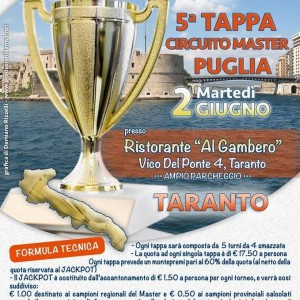 Burraco – Circuito Master Puglia – 2.06.2015 Taranto