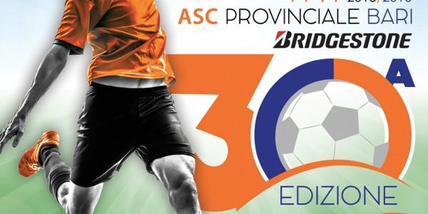 CAMPIONATO DI CALCIO A 11 ASC PROVINCIALE BARI BRIDGESTONE -30° EDIZIONE 2015-2016
