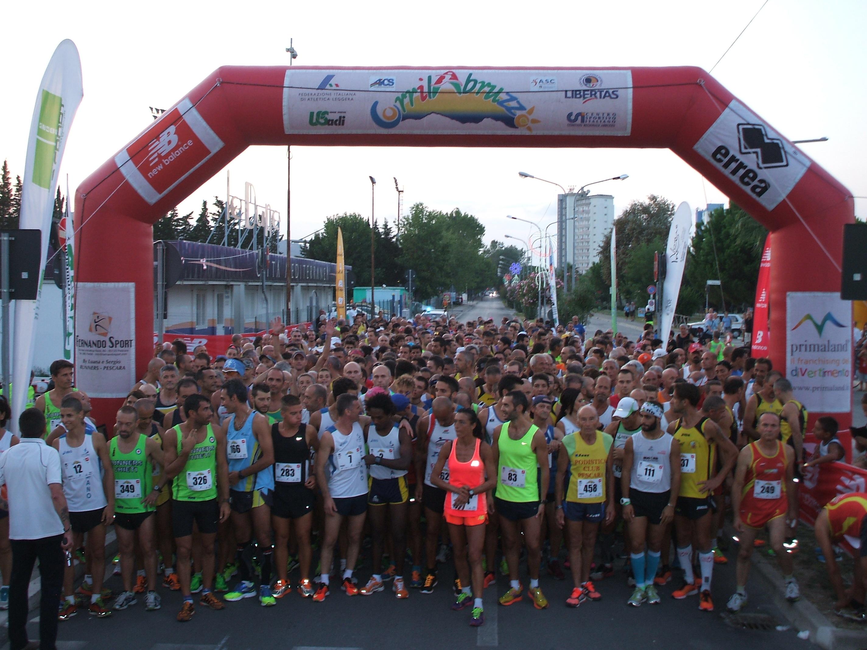 Campionato Nazionale ASC Sport km 10  i Vincitori tesserati ASC