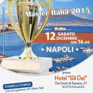 """CAMPIONATO ITALIANO BURRACO """"MASTER ITALIA 2015"""""""