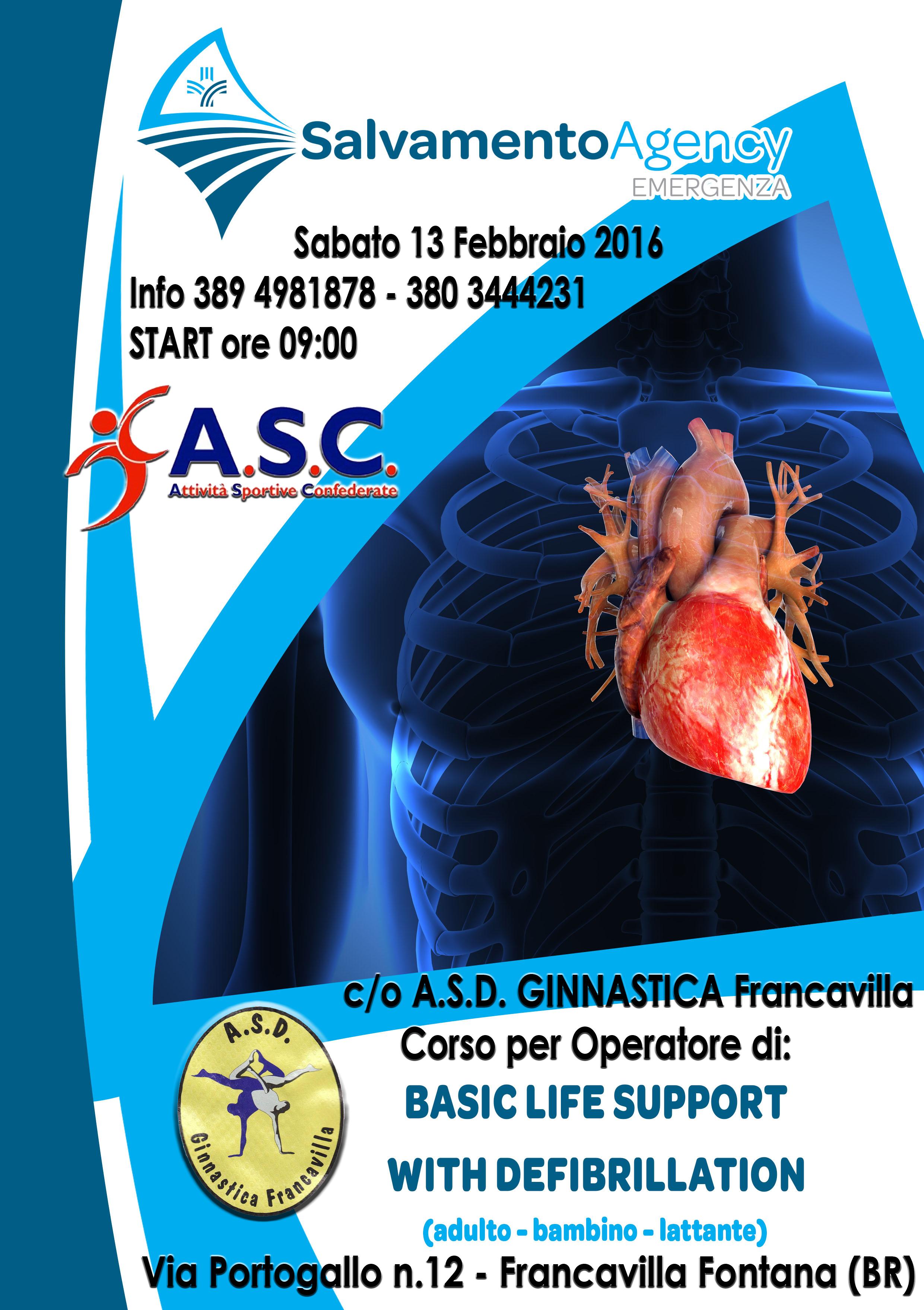 Corso B L S D  - Francavilla Fontana  BR