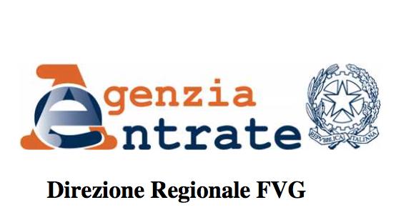 Protocollo d   intesa Agenzia delle Entrate     Direzione Regionale del F V G  e Comitato Regionale Coni del F V G
