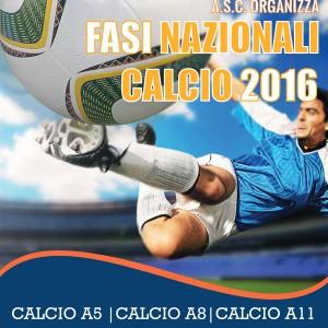 FASI NAZIONALI CALCIO ASC 2016