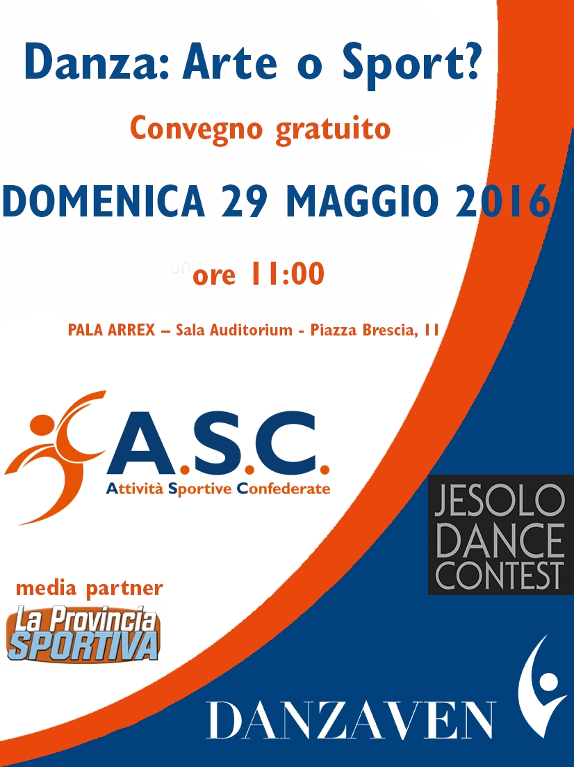 Convegno A S C  - Danza  Arte o Sport