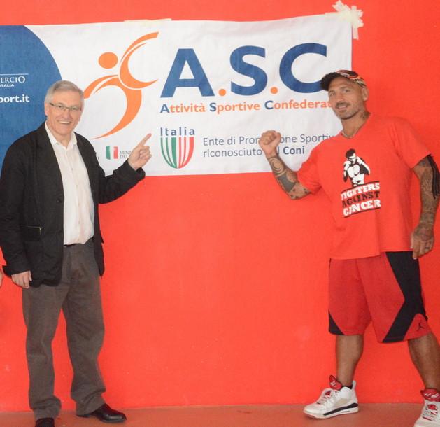 Stage di Pugilato con Giacobbe Fragomeni - ASC Milano