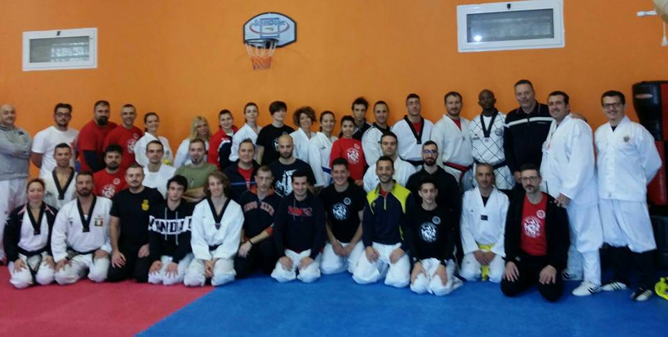 Seminario di Taekkyeon a Taranto