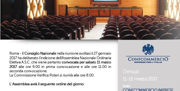 Convocazione Assemblea Nazionale Ordinaria Elettiva A.S.C.