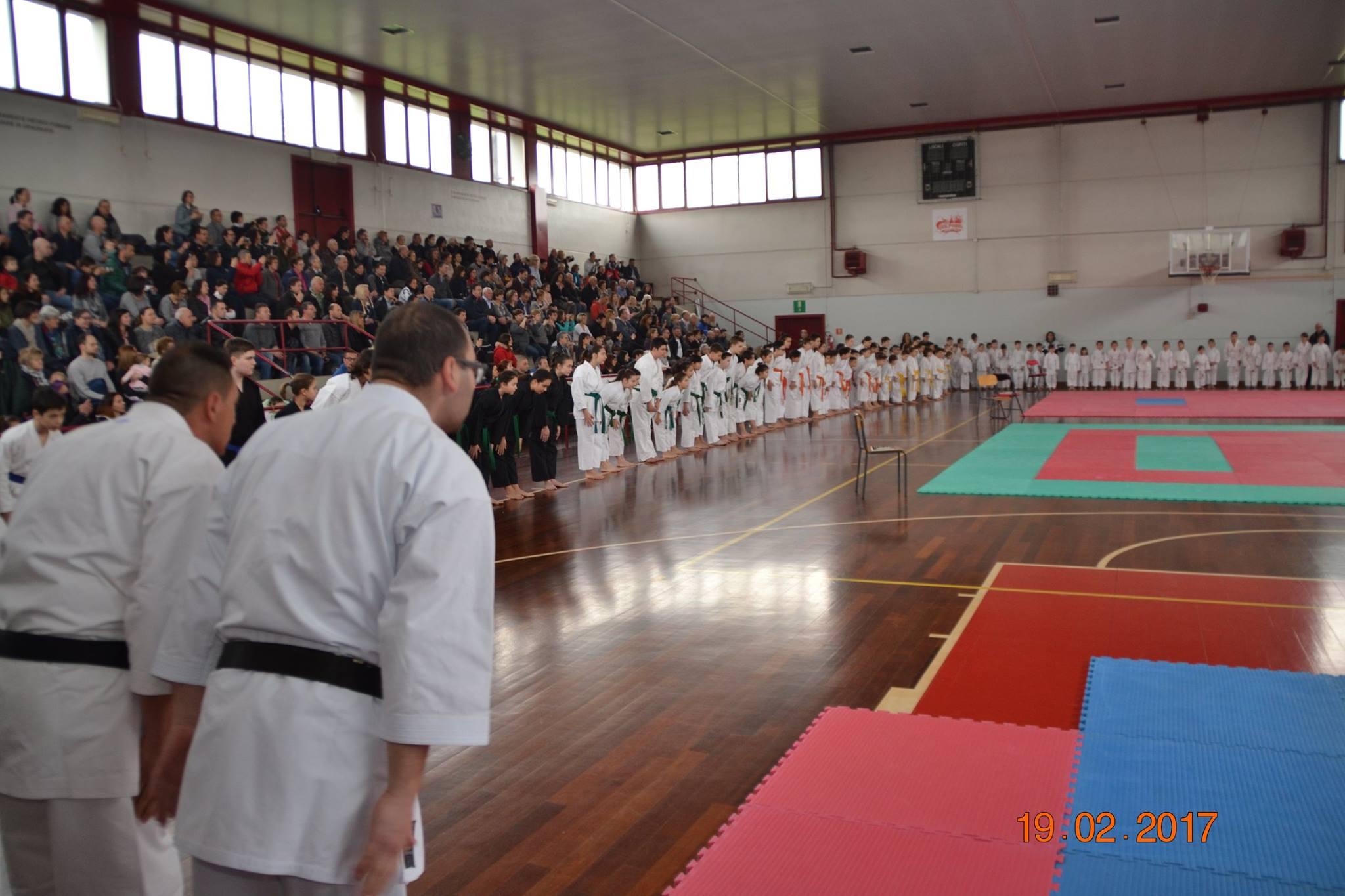 Venti  di karate a Dolo  un grande traguardo
