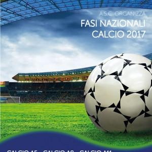 FASI NAZIONALI CALCIO A.S.C. 2017