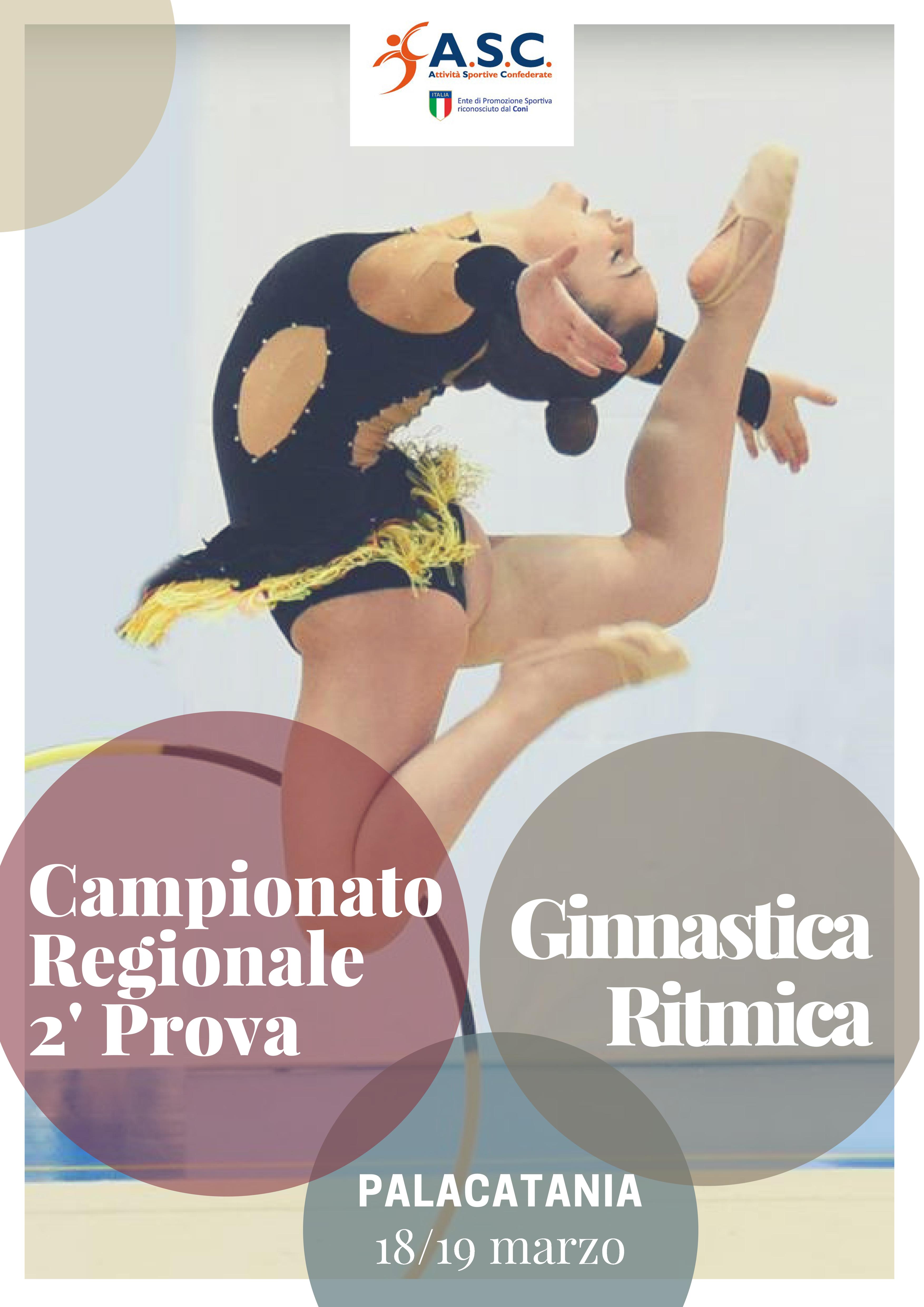 Campionato Regionale Ginnastica Ritmica 2  039  Prova