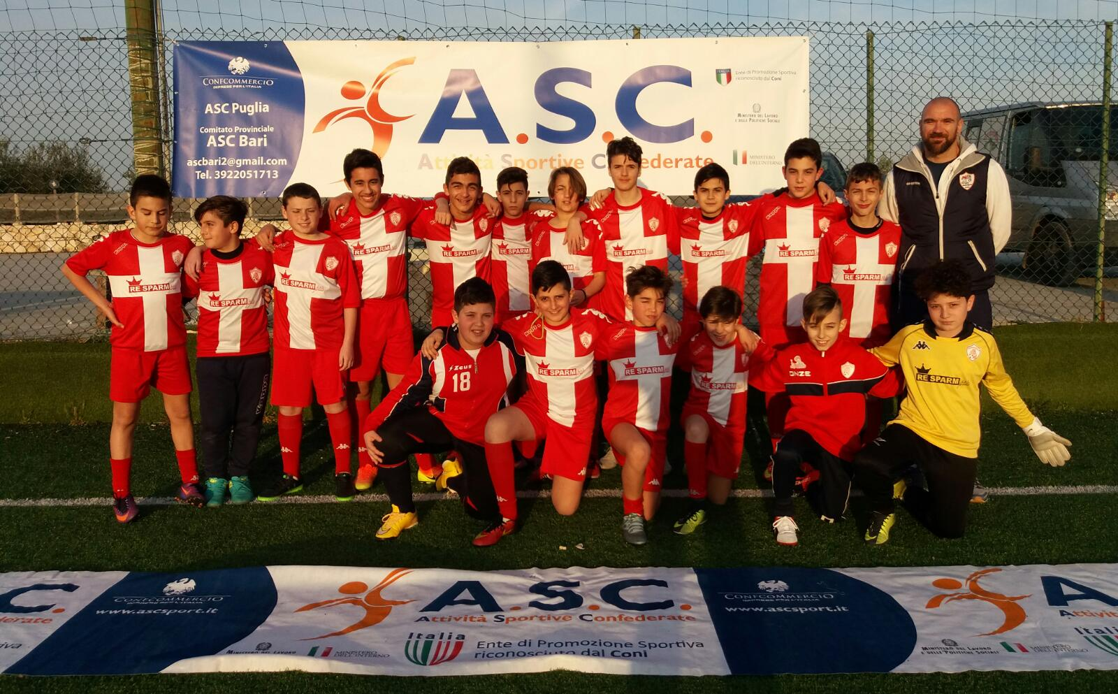 I   Trofeo A S C  Bari  JUNIOR SOCCER CUP