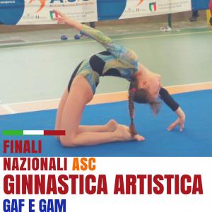 Fasi Nazionali A.S.C. Ginnastica Artistica GAF E GAM