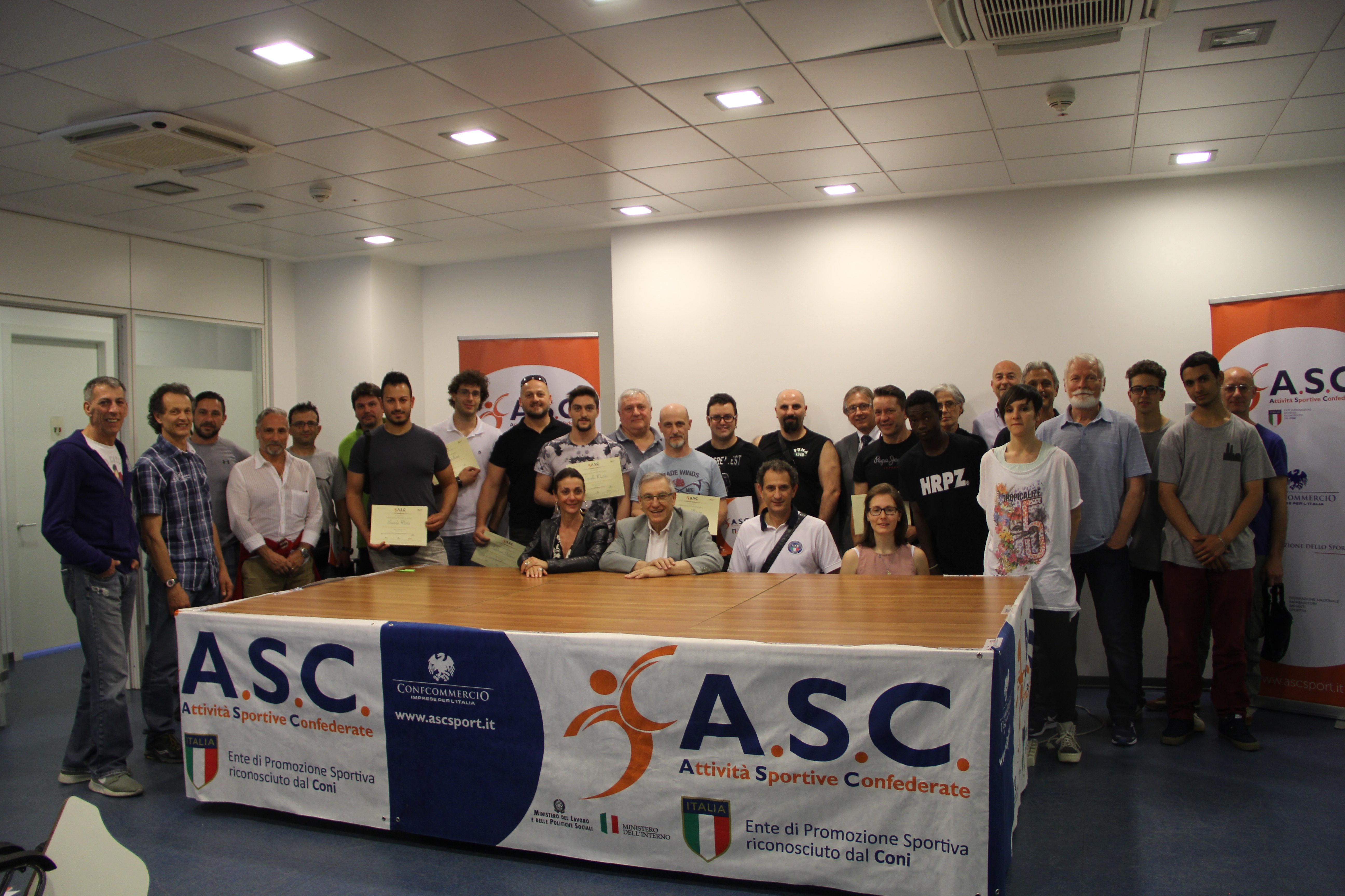 A S C  WEEKEND 27-28 MAGGIO 2017