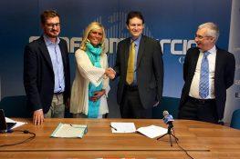 Conferenza stampa di presentazione dell'accordo di Confcommercio Chieti con ASC