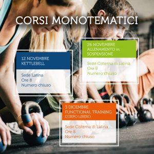 Corsi monotematici