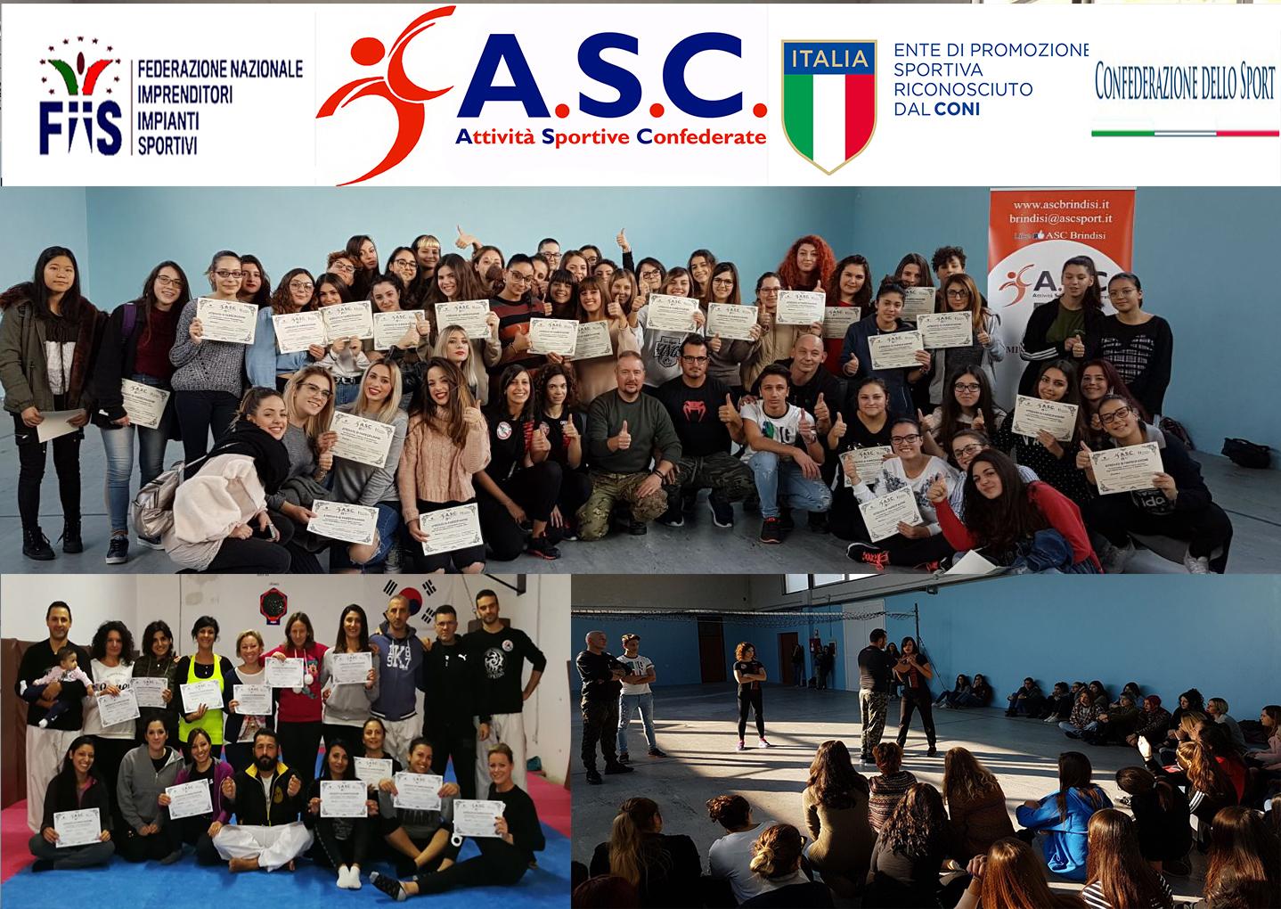 Stage difesa personale metodologia    Woman Defense    ASC Taranto