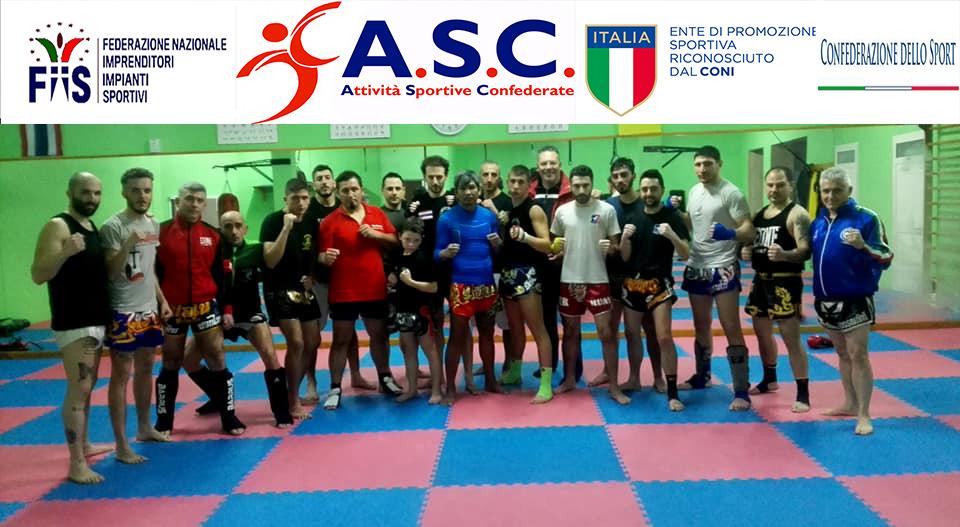 Stage di Muay Thai con il pluricampione del mondo Sak Kaoponlek - ASC Taranto