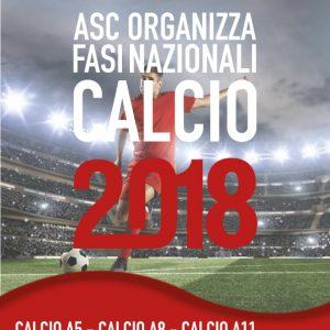 ASC organizza FASI NAZIONALI CALCIO 2018