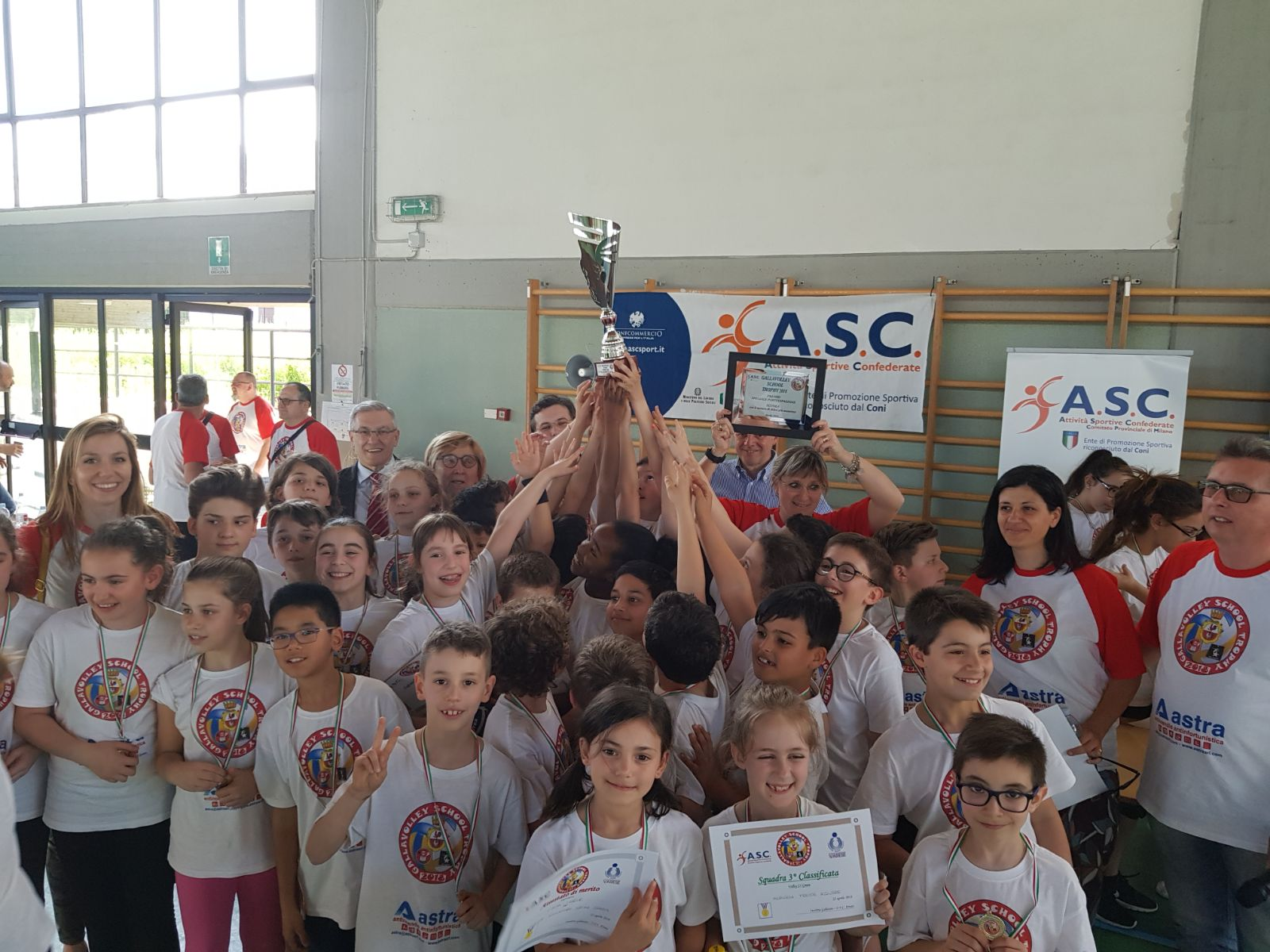 Gallavolley School Trophy 2018 ASC LOMBARDIA