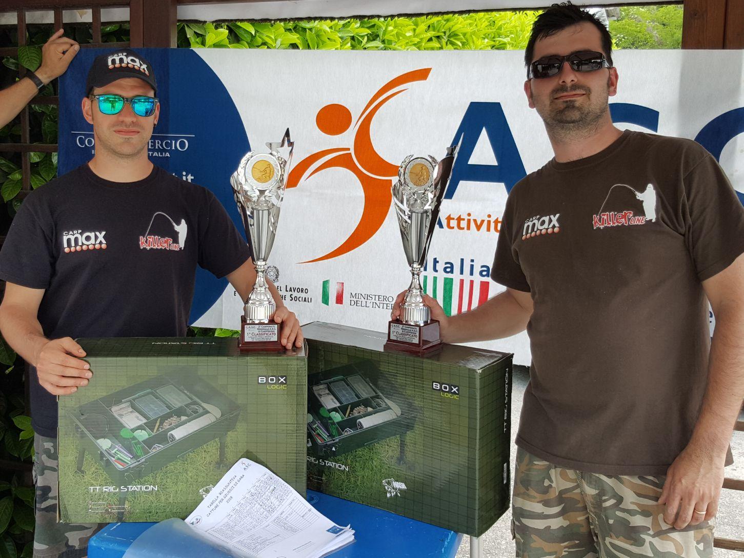 2   CAMPIONATO CARPFISHING REGIONE LOMBARDIA 2018