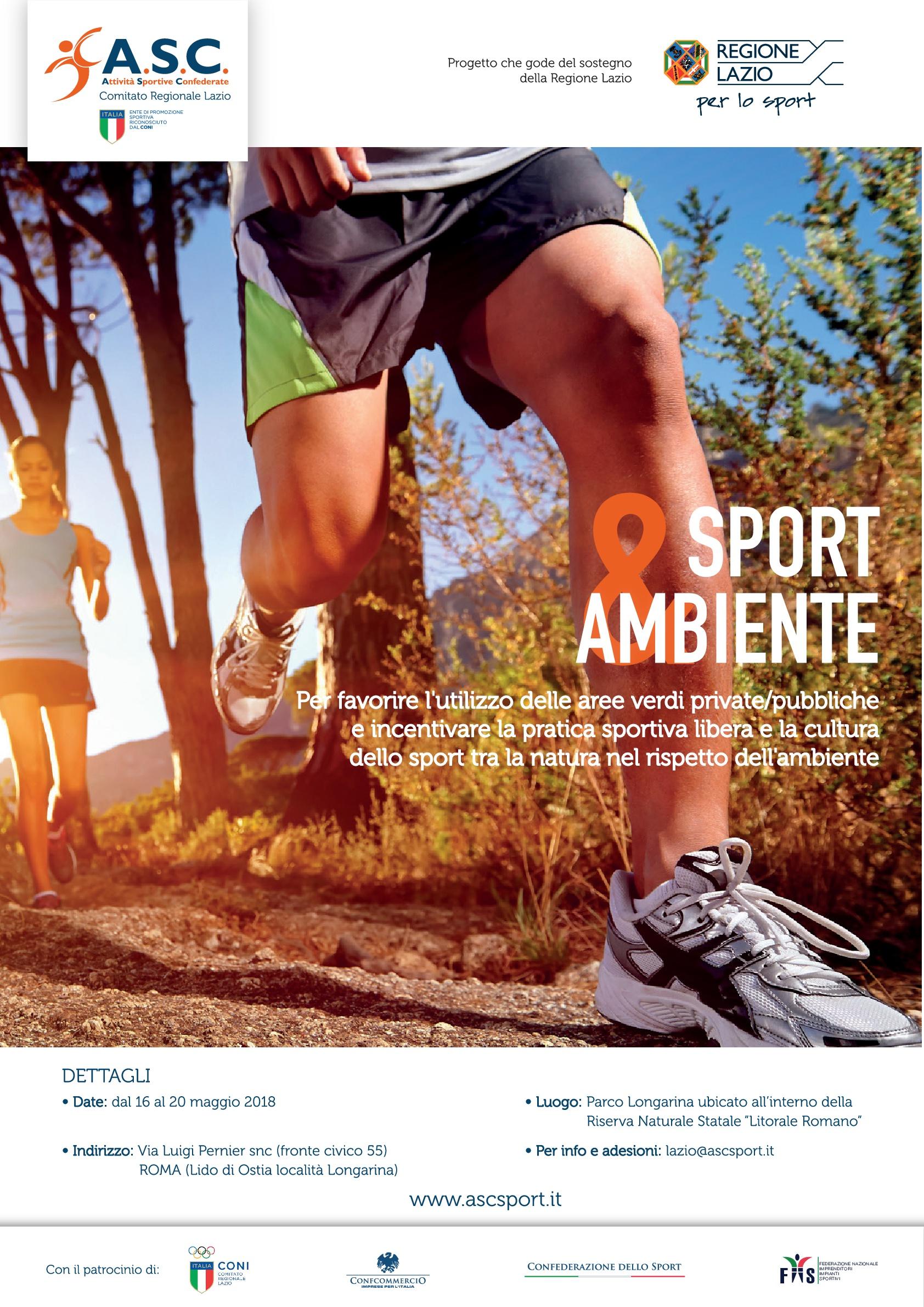 Sport amp Ambiente Comitato Provinciale ASC ROMA