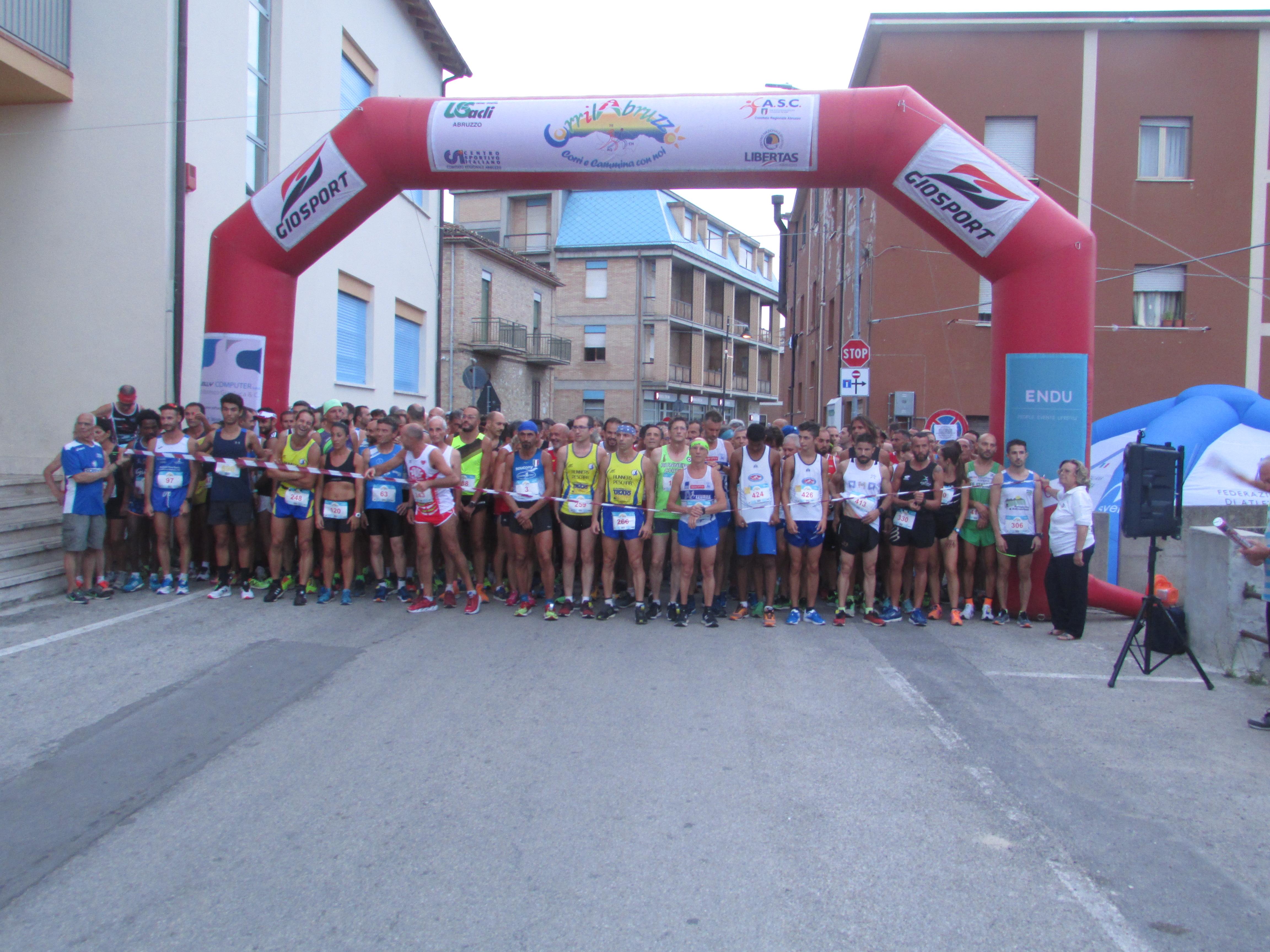 Campionato Nazionale centro sud corsa su strada Notaresco