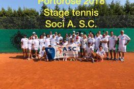 Portorose 2018 STAGE DI TENNIS ASC