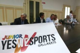 GALLARATE, PROGETTO YES WE SPORTS