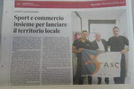 Sport e commercio insieme per lanciare il territorio locale