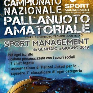 Primo Campionato amatoriale nazionale di Pallanuoto ASC-SPORT MANAGEMENT