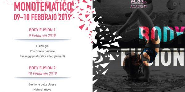 Workshop monotematico BODY FUSION