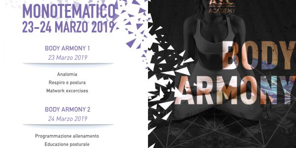 Workshop monotematico BODY ARMONY