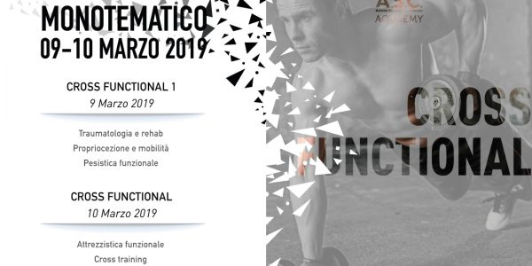 Workshop monotematico CROSS FUNCTIONAL