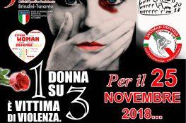 Giornata internazionale per l'eliminazione della violenza contro le donne ASC BRINDISI