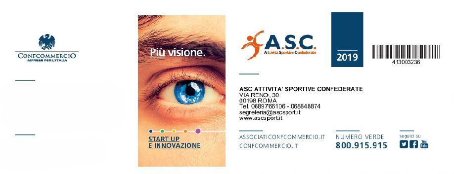 Tessera Confcommercio - ASC