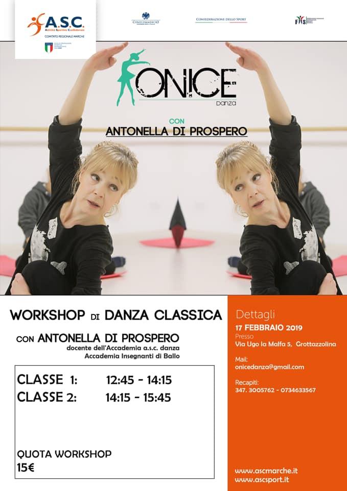 Workshop di danza Classica ASC MARCHE